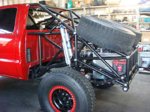 Cab Bed And Full Cages